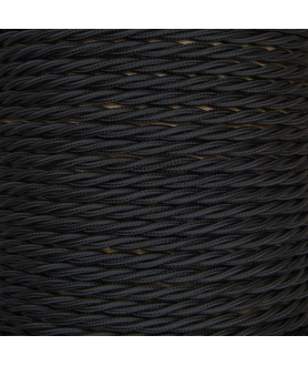 0.75mm Twisted Cable Black
