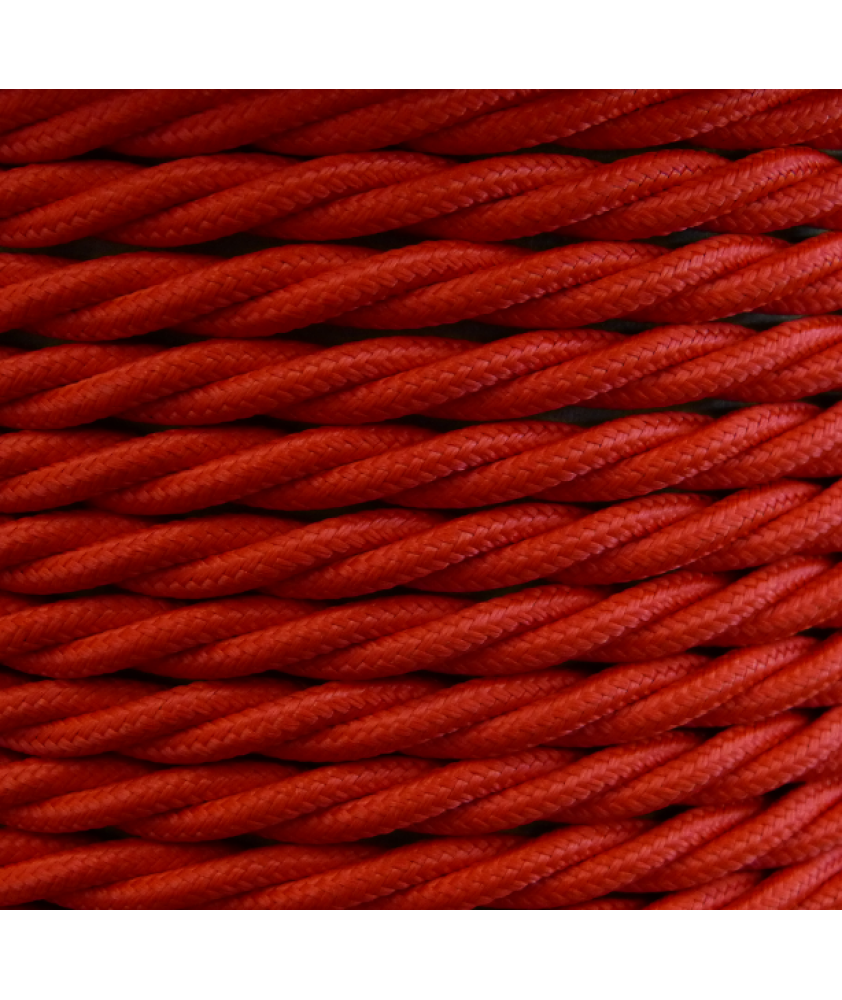 0.75mm Twisted Cable Poppy Red