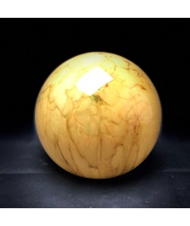 150mm Art Deco Marbled Globe with 80mm Fitter Hole