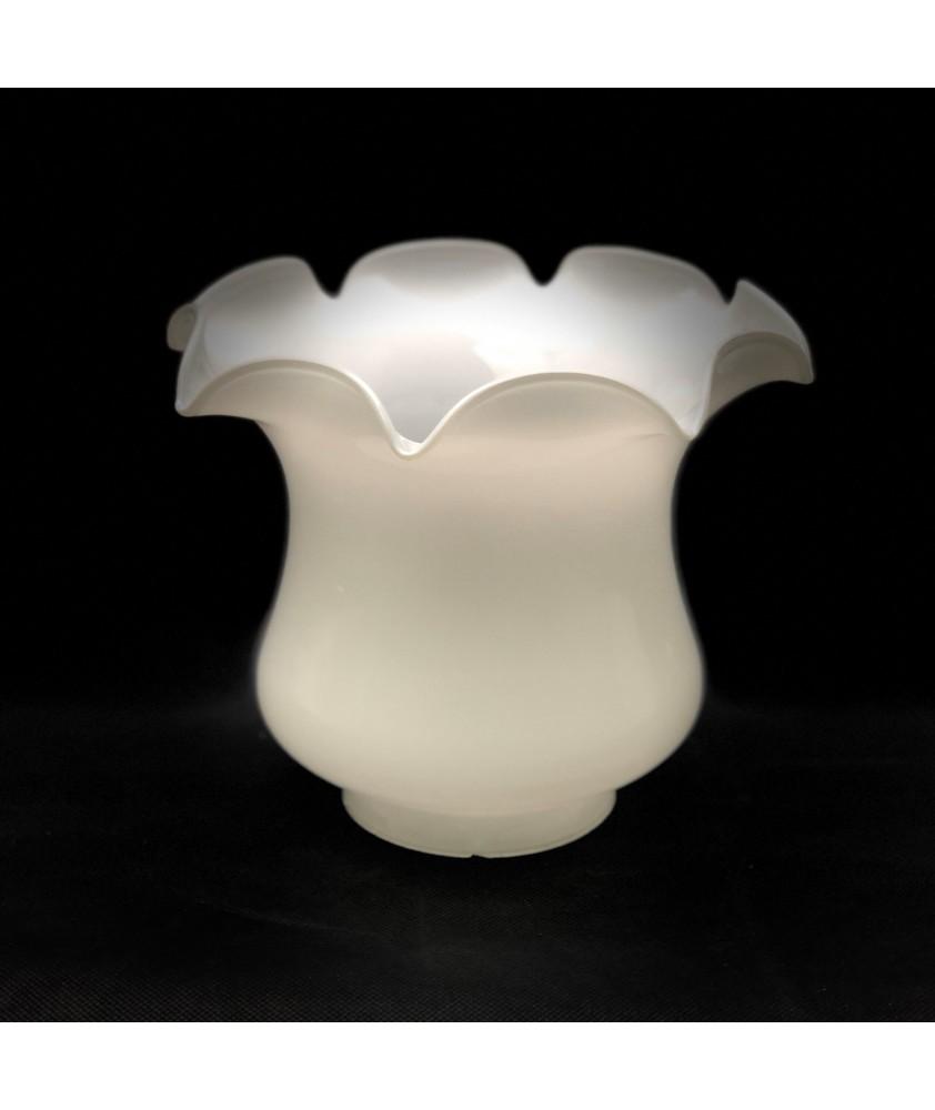 Original Opal Tulip Oil Lamp Shade