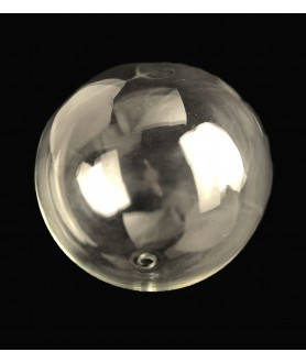 135mm Clear Globe with 10mm Fitter Hole