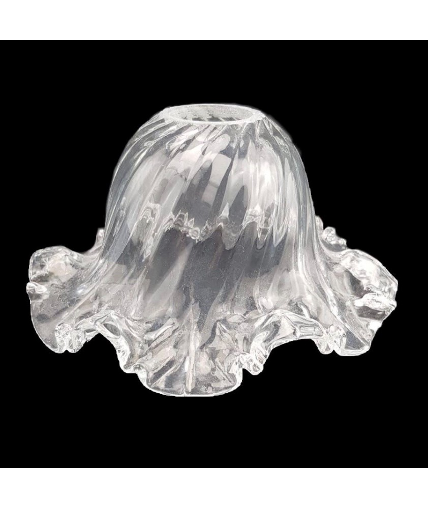 Frilled Tulip Light Shade with 28mm Fitter Hole