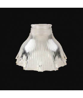 Frilled Prismatic Tulip Light Shade with 57mm Fitter Neck
