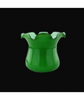 Green Tulip Shade with 45mm Fitter Hole