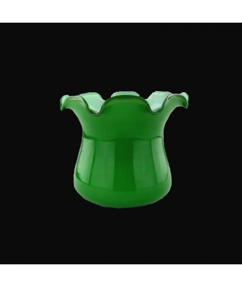 Green Tulip Light Shade with 45mm Fitter Hole