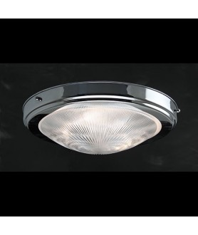 Prismatic Flush Ceiling Light