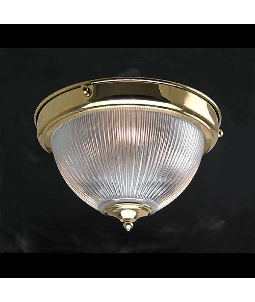 Prismatic Dome Flush Ceiling Light