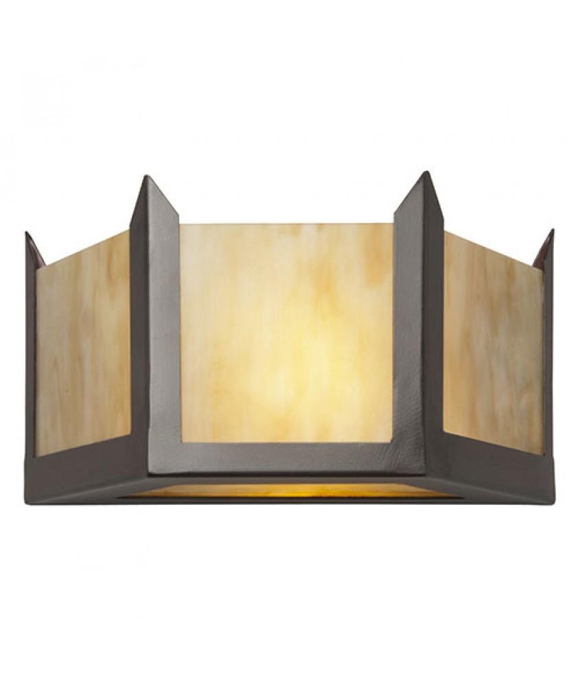 Hudson Flush Wall Light