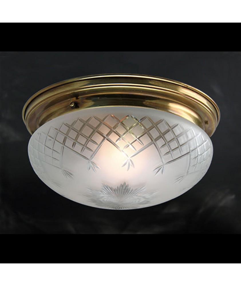 Pineapple Bowl Ceiling Light