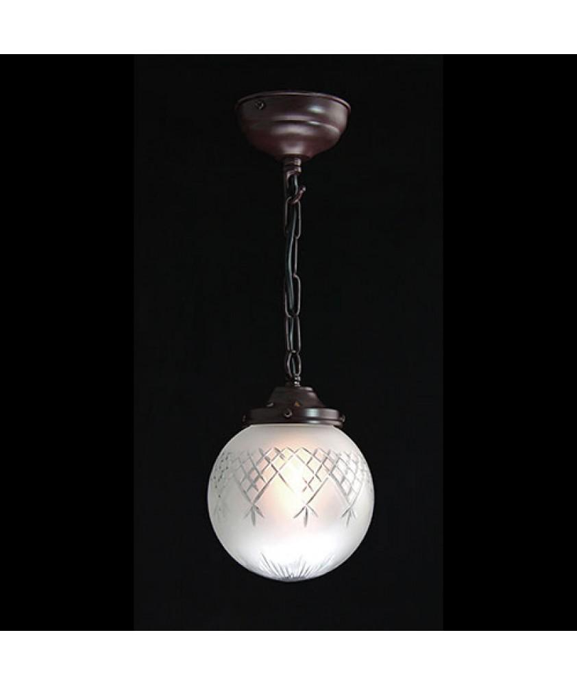 Small Pineapple Globe Pendant