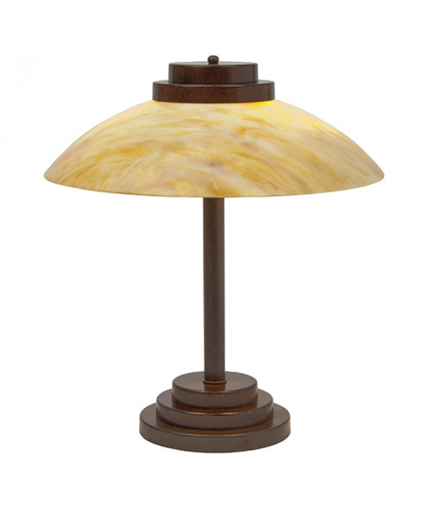 Stratton Amber Table Light