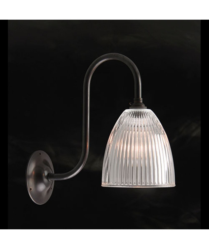 Elongated Dome Wall Light
