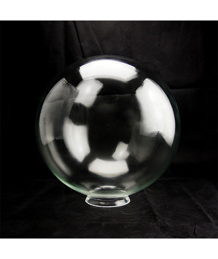 300mm Clear Globe with 100mm Fitter Neck