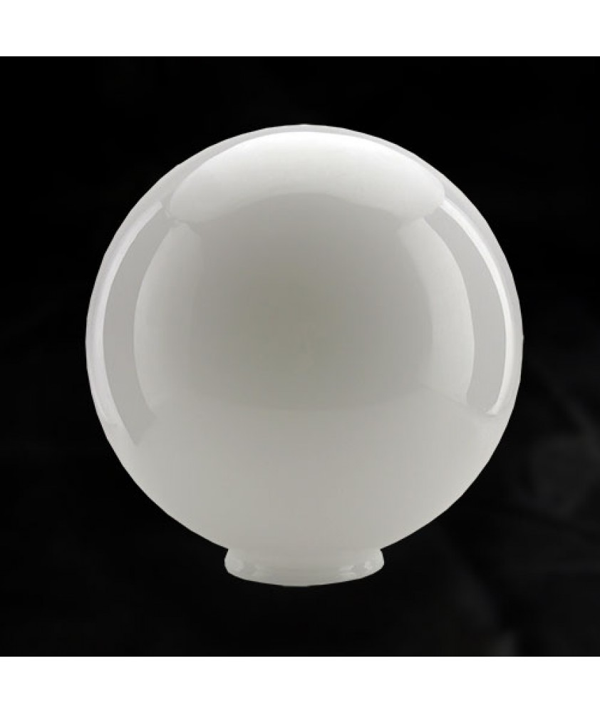 250mm Opal Globe with 100mm Fitter Neck (Gloss or Matt)