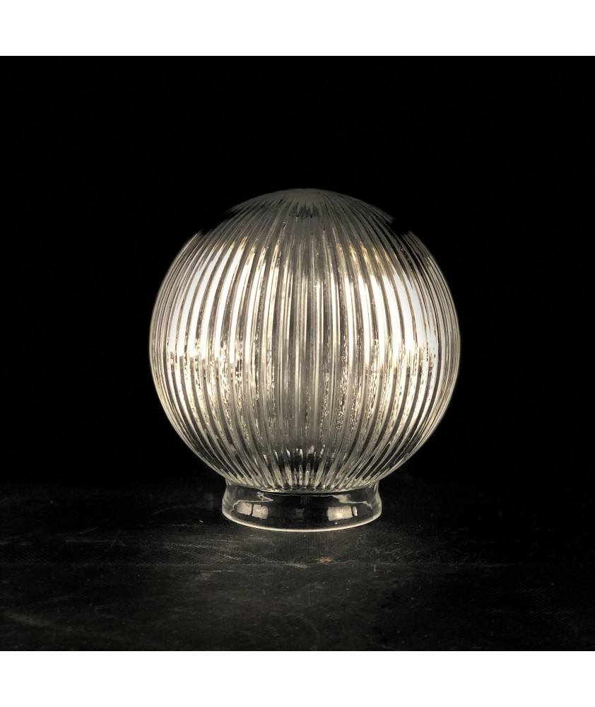 150mm Reeded Globe with 80mm Fitter Neck