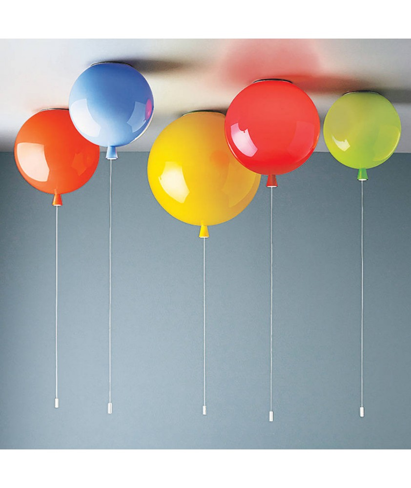 300mm Memory Balloon Ceiling Light (Various Colours)
