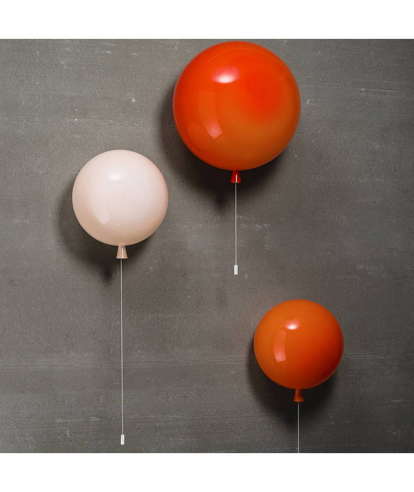 300mm Memory Balloon Wall Light (Various Colours)