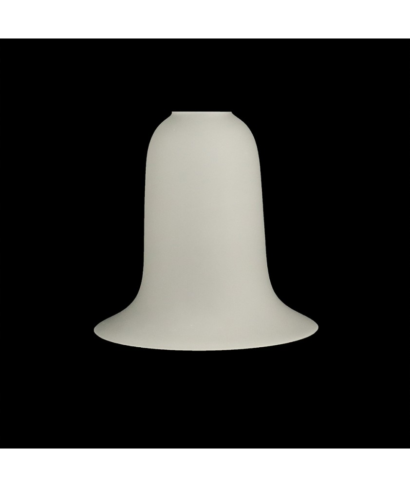 135mm Classic Etched Tulip/Bell Light Shade with 28mm Fitter Hole