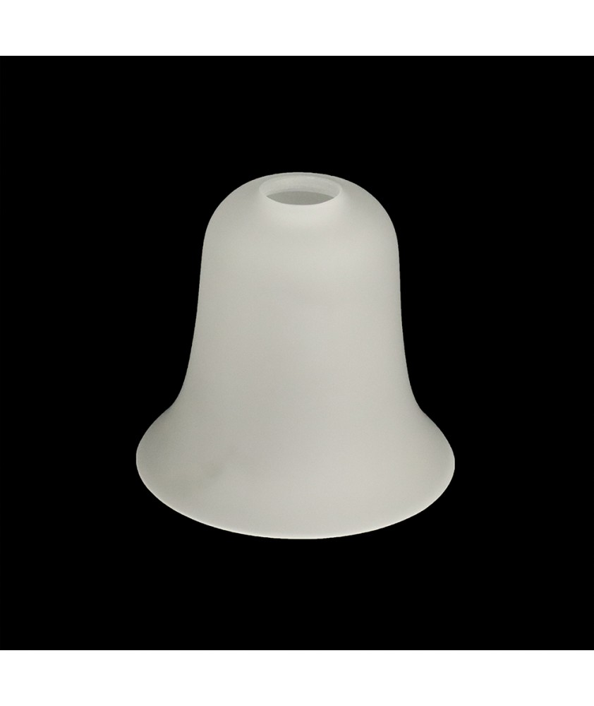 Classic Bell Light Shade with 28mm Fitter Hole (Clear or Frosted)