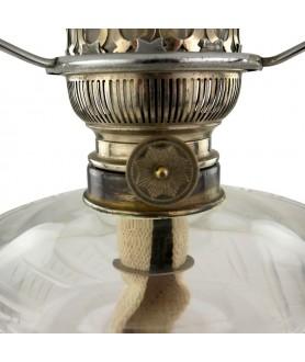 Chrome Matador Oil Lamp