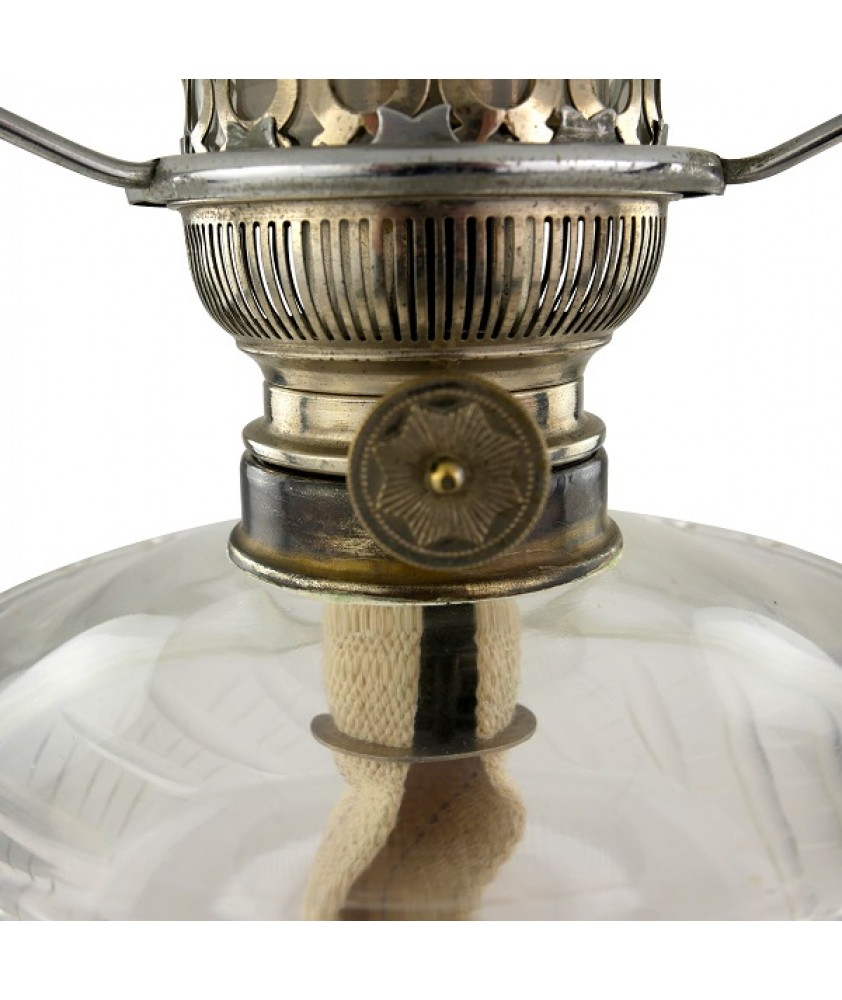Chrome Matador Oil Lamp