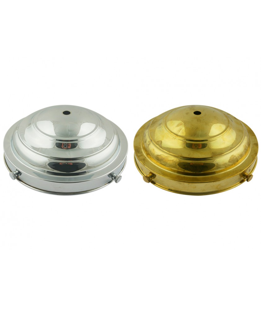 150mm Beehive Dome Gallery in Brass or Chrome