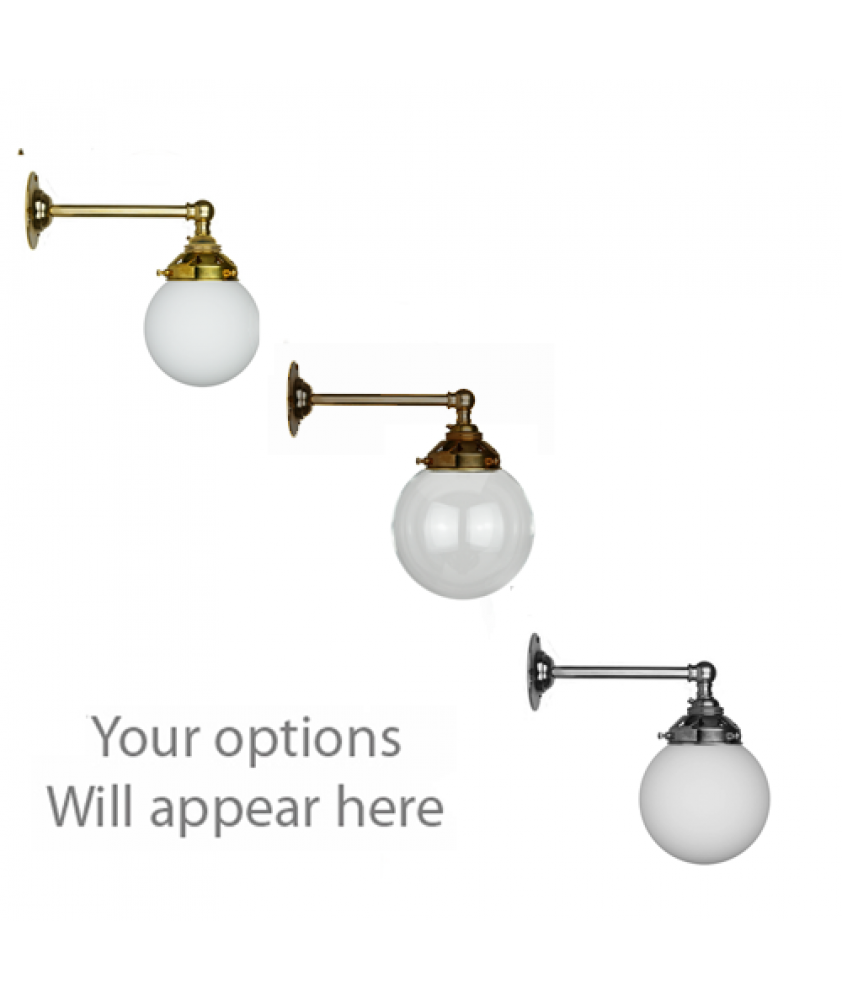 John Moncrieff Range | Wall Lights - Globes with 60mm Gallery