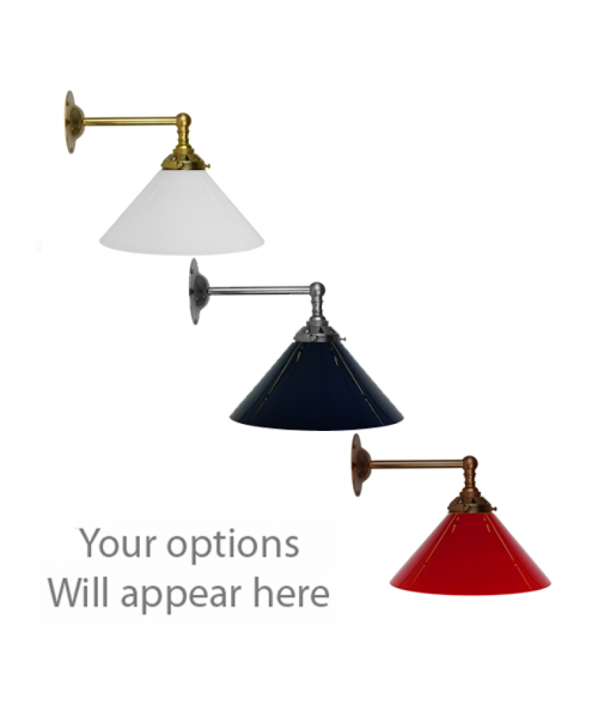 John Moncrieff Range | Wall Lights - Coolies with 60mm Gallery