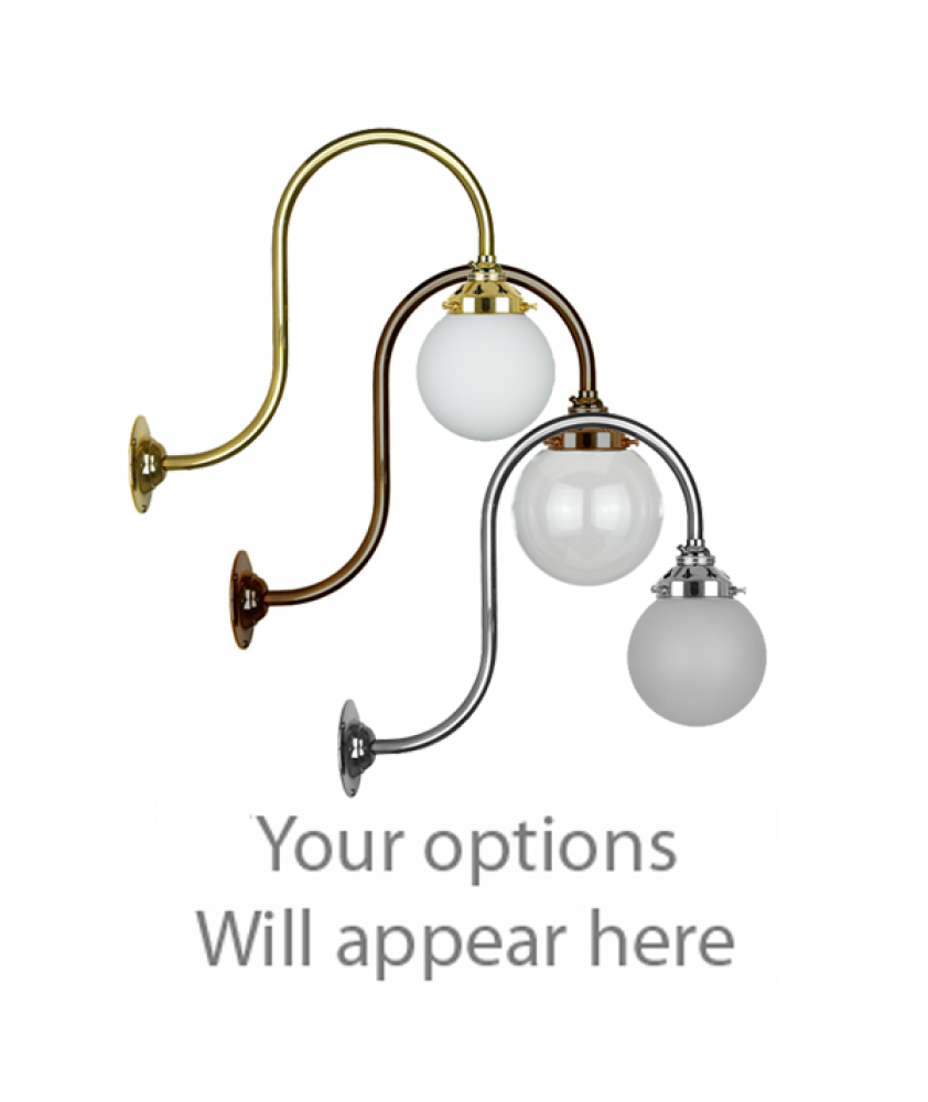 John Moncrieff Range   Wall Lights - Globes with 60mm Gallery