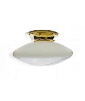 Opal Flying Saucer Ceiling Light