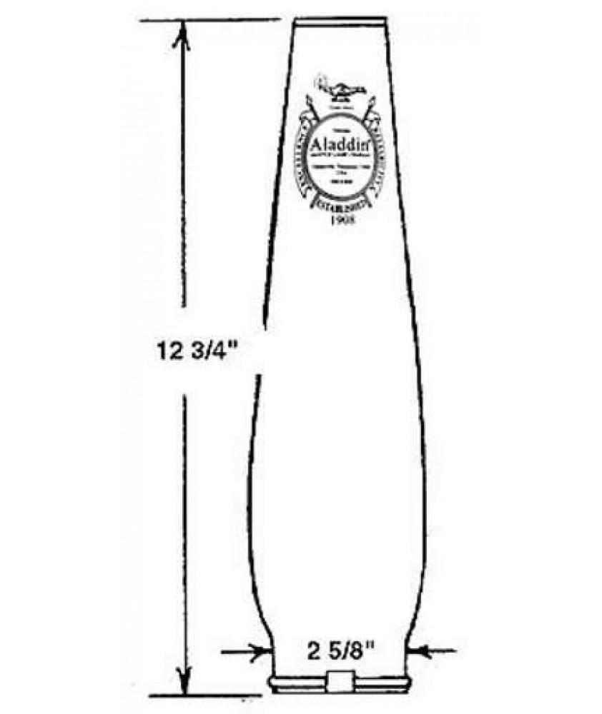 Aladdin Lamp Loxon Oil Lamp Chimney 66mm Base