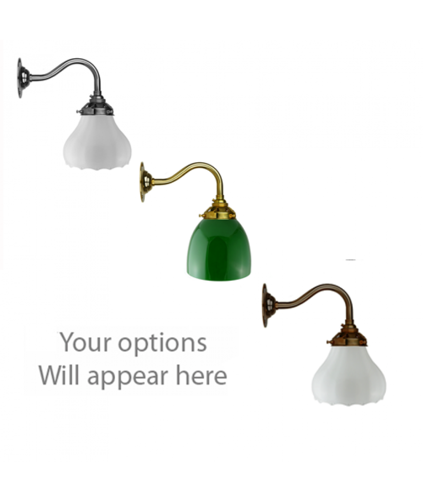 John Moncrieff Range   Wall Lights - Tulips with 60mm Gallery