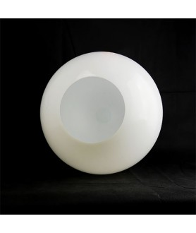 400mm Opal Globe Shade with 100mm Fitter Hole