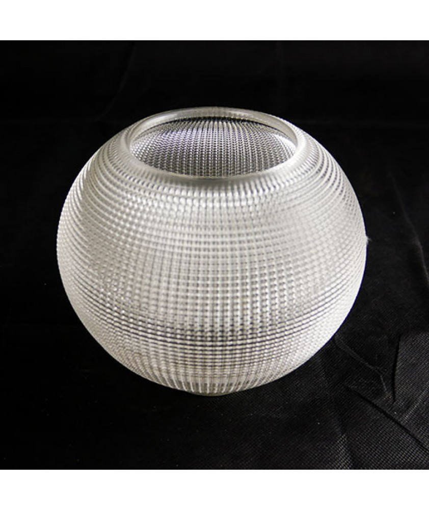 160mm Holophane Prism Ball Light Shade with 60mm Fitter Neck