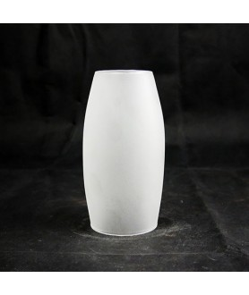 155mm Etched Glass Cylinder light Shade with 63mm Fitter Size