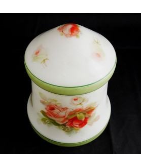 Vintage 1950's Floral  Ceiling  Light Shade with 100mm Fitter Hole