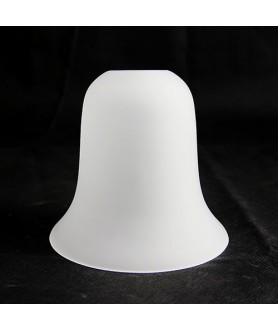 Exterior Frosted Bell Light Shade with 28mm Fitter Hole