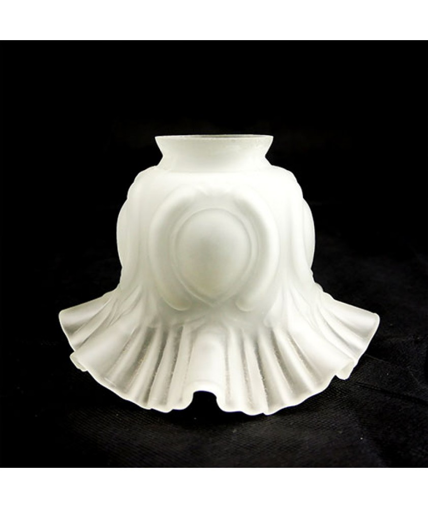Etched frilled tulip with 57mm Fitter Neck