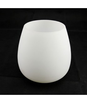 Matt Opal Tulip Light Shade with 45mm Fitter Hole