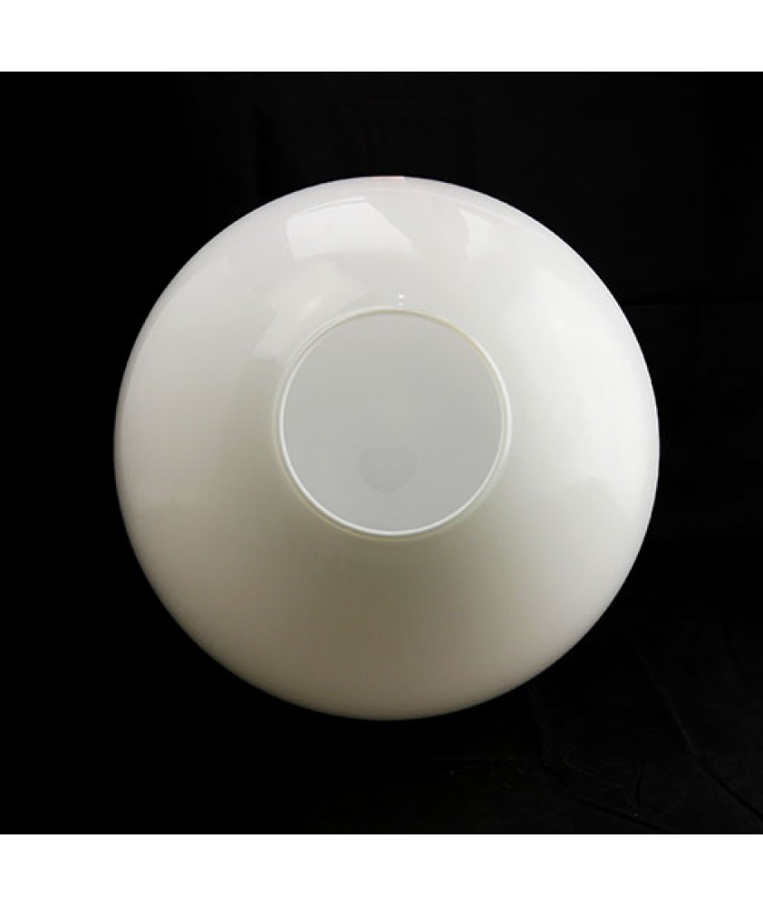 350mm Opal Globe Shade with 100mm Fitter Hole