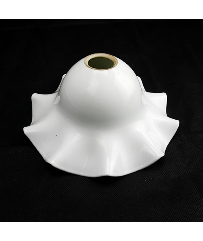 Christopher Wray Opal Tulip Light Shade with 28mm Fitter hole