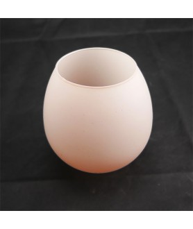 Light Pink Glass Light Shade with 42mm Fitter Hole